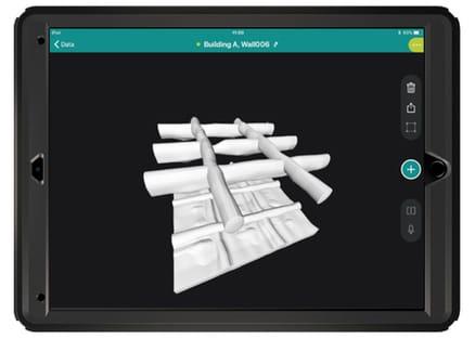 GPR live pro 3D view