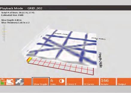 SIR 4000 3D screen capture